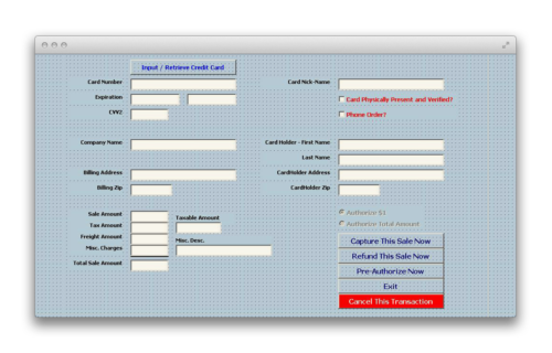 The EBizCharge integration for the Macola ERP system.