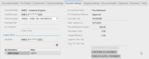 Alternative to Authorize.net for Acumatica Enterprise in action.