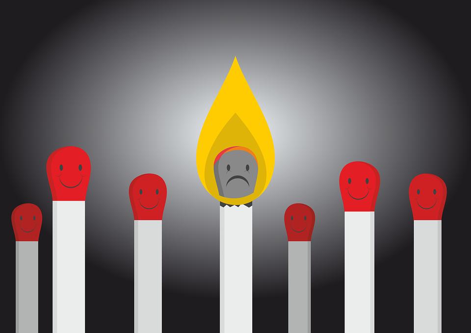burnt match burnout